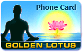 Golden Lotus Phone Card