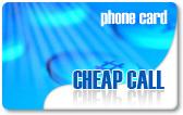 Cheap Call calling card