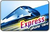 Express calling card