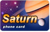 Saturn Phone Card