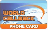 WorldCallback calling card